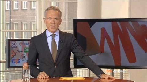 Verkiezingsuitzendingen voor EenVandaag vanuit de bibliotheek in Den Haag. www.eenvandaag.nl