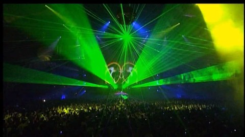 DVD-registratie van Qlimax. www.q-dance.com/