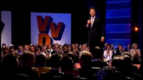 Registratie van het VVD-congres in Papendal. www.vvd.nl
