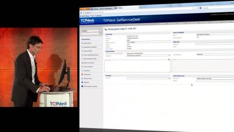 Keynote van Topdesk 5.2 software. http://www.topdesk.nl